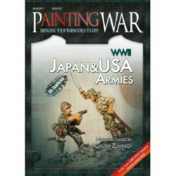 Painting War 3: WWII Japan & Usa Armies (English)