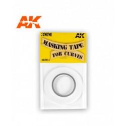 Masking Tape For Curves 3 Mm