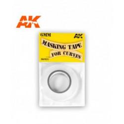 Masking Tape For Curves 6 Mm