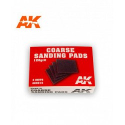 Coarse Sanding Pads 120 grit.4 units