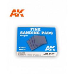 Fine Sanding Pads 400 grit. 4 units