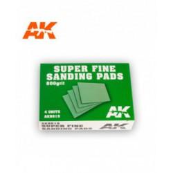 Super Fine Sanding Pads 800 grit.4 units
