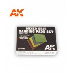 Mixed Grit Sanding Pads Set 800 grit.4 units