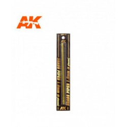 Brass Pipes 1.0mm, 5 units