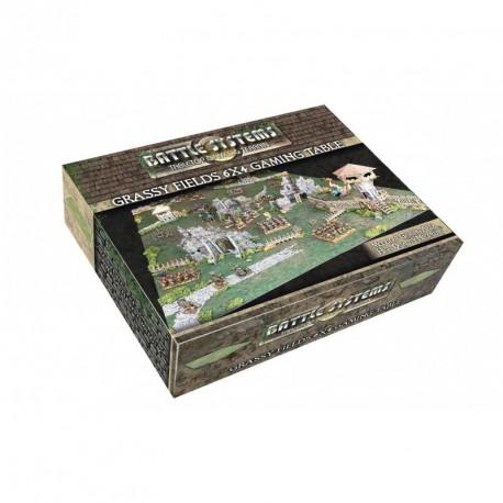 Grassy Fields 6x4 Gaming Table (180x120cm)