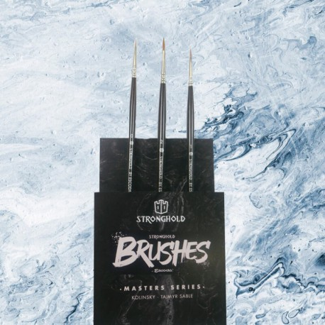 Stronghold Brushes Pack Master Series (Size 0, 1, 2)