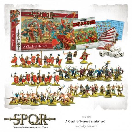 SPQR: A Clash of Heroes Starter Set (Castellano)