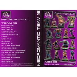 Necromantic Team of 16 Players
