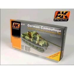 German Green and Brown Modulation Set