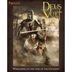 Deus Vault (Wargame Rulebook) - 192 Pages Hardcover