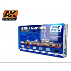 German Warships Set