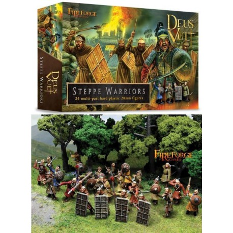 Steppe Warriors (24 Infantry Plastic Figures)