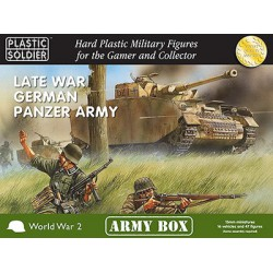 15mm Army Box German Late War Panzer