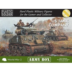 15mm Army Box US Tank Company Army 1944