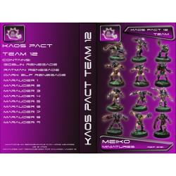 Kaos Pact Equipos de 12 Jugadores