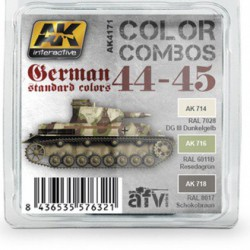 German Standard 44-45 Color Combo