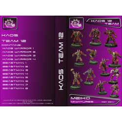 Kaos Team of 12 Players