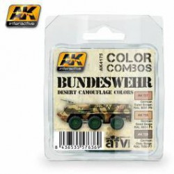 Bundeswehr Desert Camouflage Colors Combo