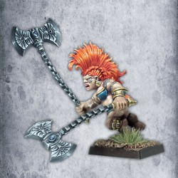 Dwarf Female Dragon/Vengeance Seeker (kit)