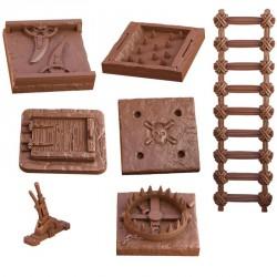 TerrainCrate: Dungeon Traps (7 piezas)
