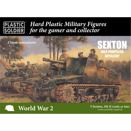 15mm Sexton Self Propelled Gun