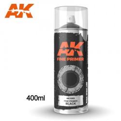 Fine Primer Black - Spray 400ml (Includes 2 nozzles)