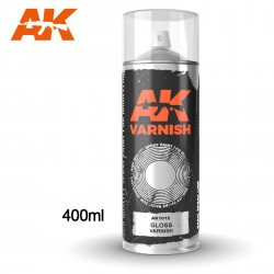 Gloss Varnish - Spray 400ml (Includes 2 nozzles)