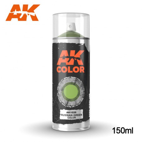 Russian Green color - Spray 150ml