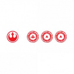 SWL Tokens - Troops and Command - Red (3)
