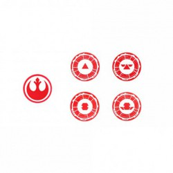 SWL Tokens - Supports - Red (4)
