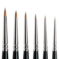Series 7 Kolinsky Sable Brush - MINI - Round Nº 00