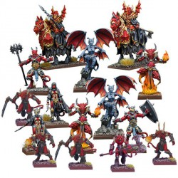 Kings of War Vanguard: Abyssal Faction Starter