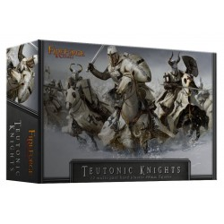 Teutonic Knights Cavalry (12 Mounted Plastic Figures)