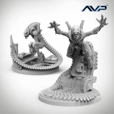Alien Evolved Warriors UniCast (Castellano)