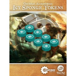 Guild Ball Icy Sponge Status Tokens