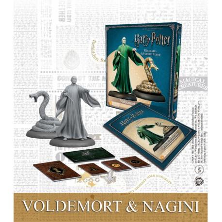 Lord Voldemort & Nagini (Castellano)