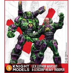 Lex Luthor Armour & Heavy Trooper (MV)