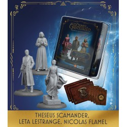 Theseus Scamander, Leta Lestrange, Nicolas Flamel (Castellano)