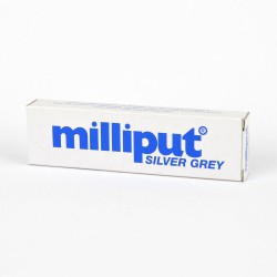 Milliput Silver Grey Epoxy Putty Box of 10