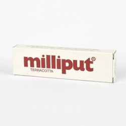 Milliput Terracotta Epoxy Putty Box of 10