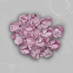 Pink Gem Acrylic Tokens (50)