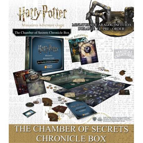 The Chamber of Secrets Chronicle Box (Castellano) + Aragog