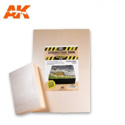 Extruded Foam 30 Mm A4 Size Already Cut (4 Units)