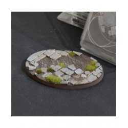 Temple Bases Oval 105mm (x1)