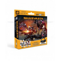 Model Color Set: Infinity Shasvastii + Exclusive Miniature