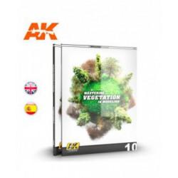 AK Learning 10 Dominando la Vegetación en Modelismo (Castellano)