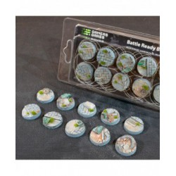 Urban Warfare Bases Round 25mm (x10)