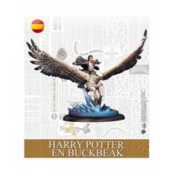 Harry Potter en Buckbeak (Castellano)